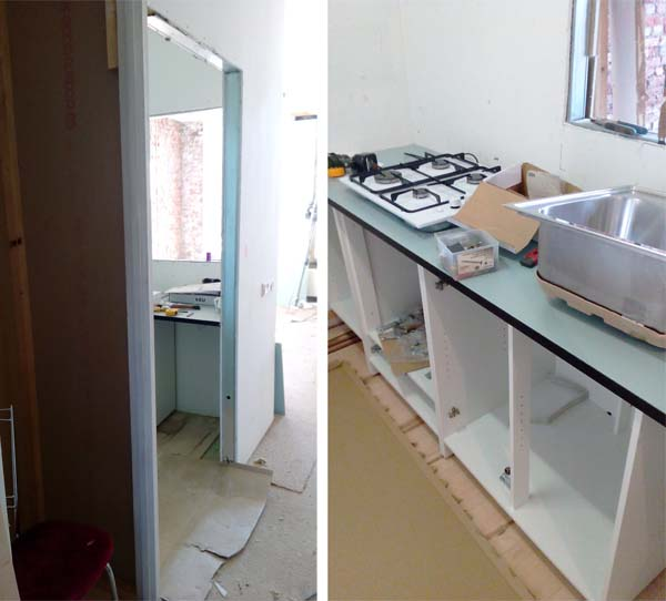 verbouwing keuken 2