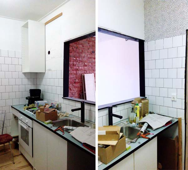 verbouwing keuken 4