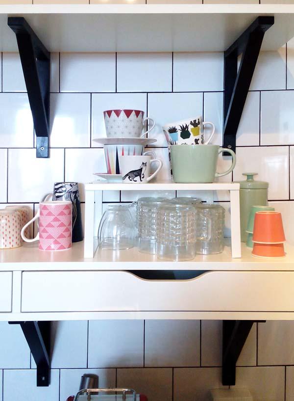 verbouwing keuken planken
