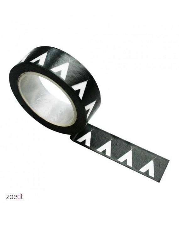 zoedt-masking-tape-zwart-met-witte-teepee