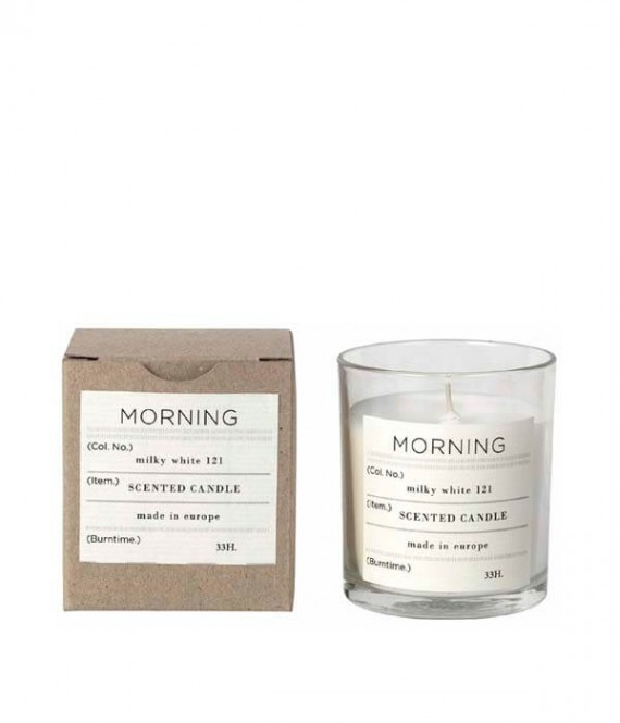 broste scented candle morning
