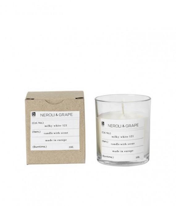 broste scented candle neroli grape