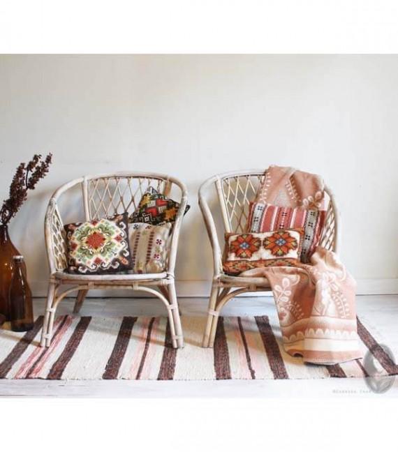 vintage rotan stoeltjes styled