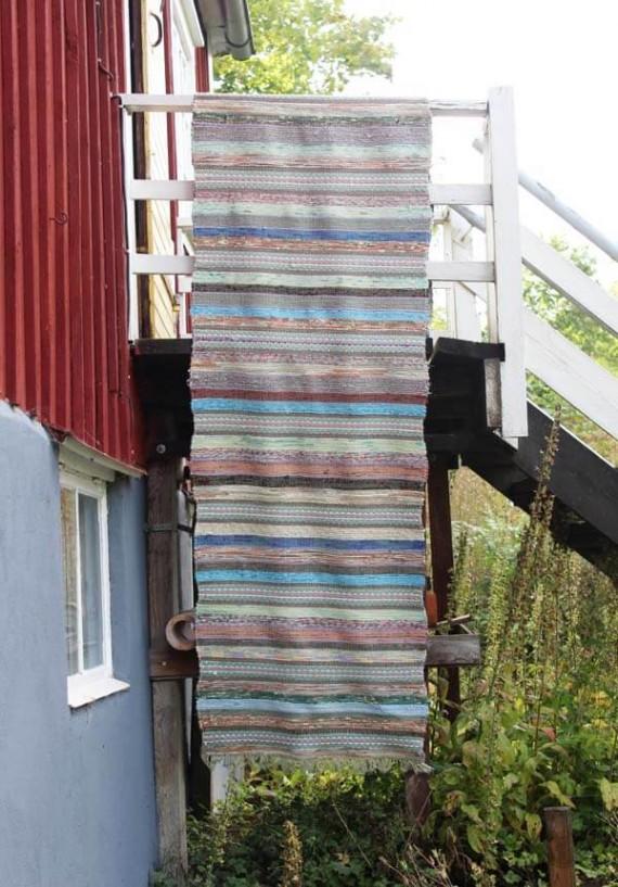 vintage voddenkleed XL pastelkleuren