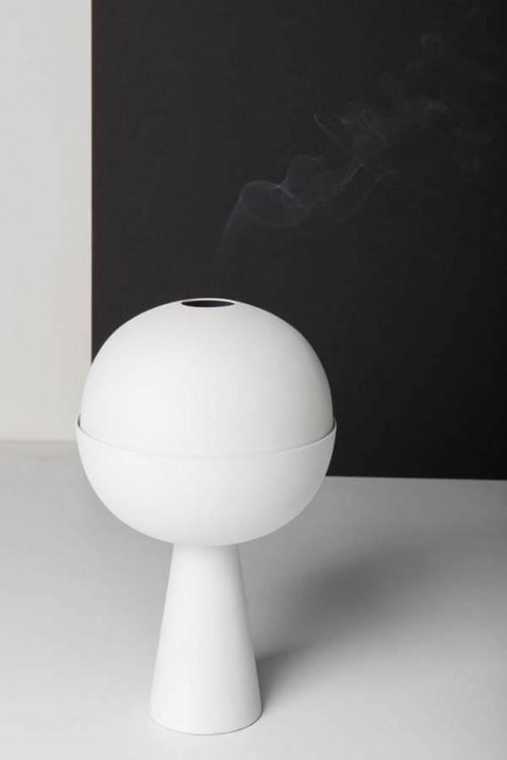 Incense burner white 3 copy