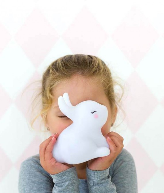 LLBUWH35-5-LR little light bunny