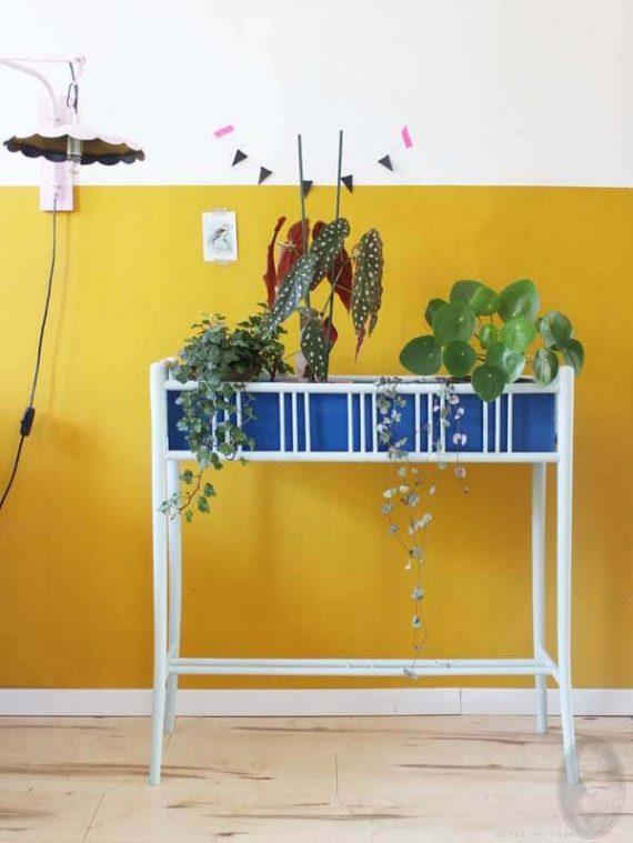 vintage plantenstandaard