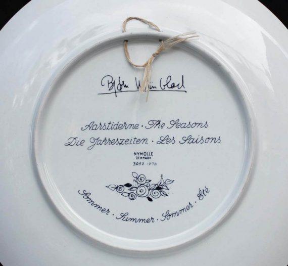 vintage bord bjorn wiinblad season summer nymolle denmark achterkant