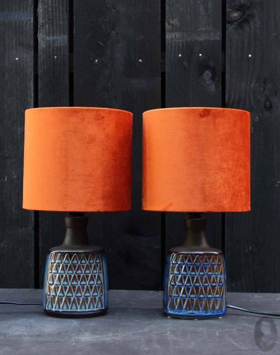 vintage lamp soholm blue series