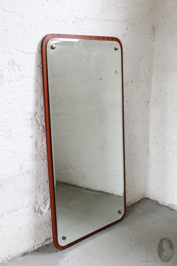 vintage teak spiegel 47-80