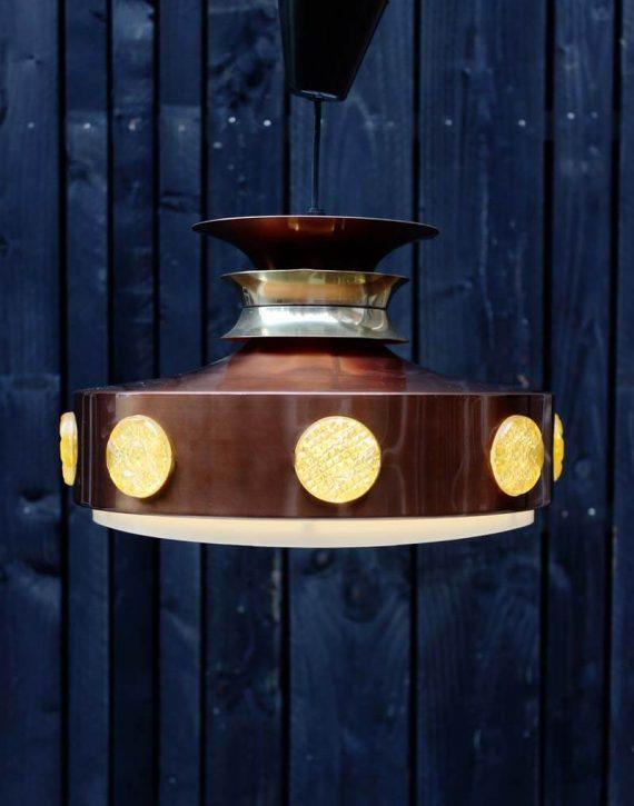 vintage vitrika hanglamp deens design