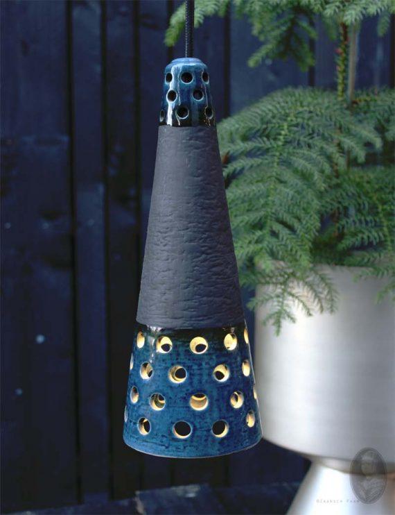 keramieken kegel hanglamp