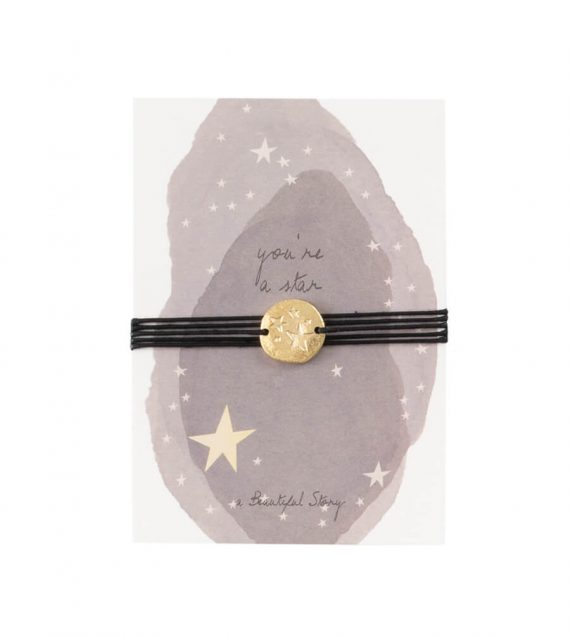 JP00002-Jewelry Postcard Star