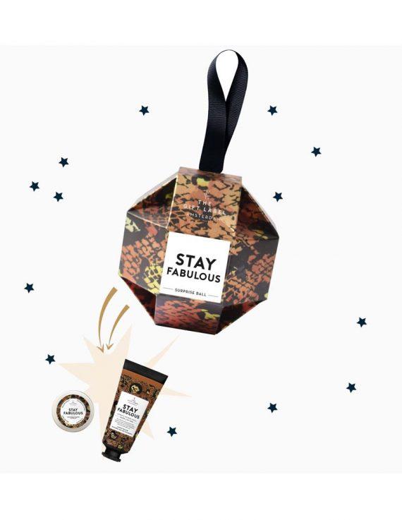 Kerst packshots lipbalm + handlotion tube Stay Hoofdfoto Fabulous