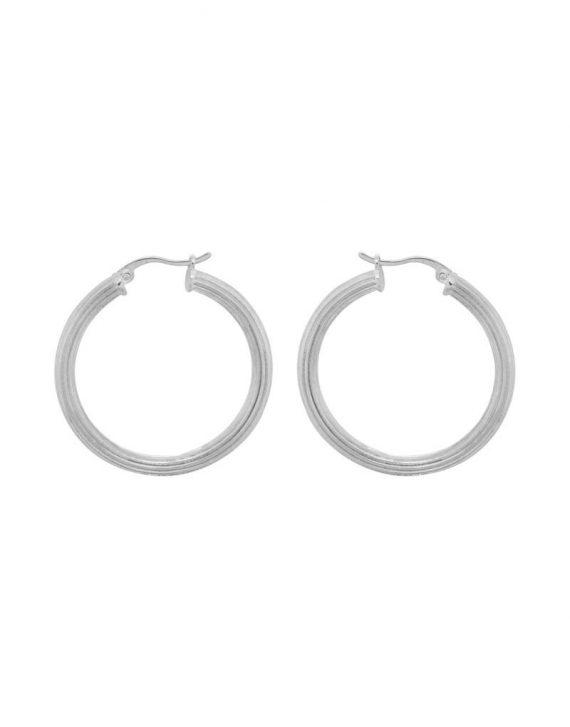 pyramid-hoop-earrings-brass-silverplated
