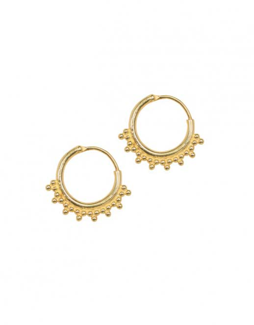 tiny-goa-earring-goldplated